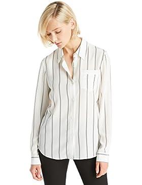 LILYSILK Camisa Mujer de Seda Mangas Largas - Blusa Super Cómodo y Transpirable de Seda 18MM