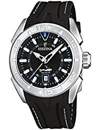 Festina Men's Quartz Watch Sport F16505/A with Rubber Strap