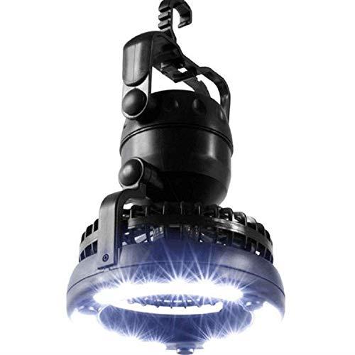 Lgoodl Lanterne de camping avec plafond Fan18 LED multifonction lumière de tente lampe de camping éclairage extérieur