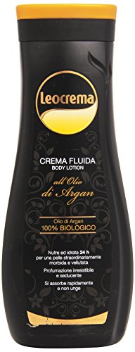 Leocrema - Crema Fluida, all'Olio di Argan , 400 ml