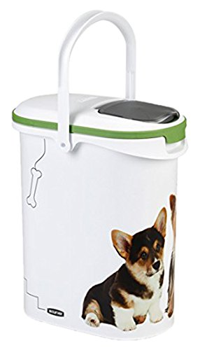 Curver 03904-P70-00 Pet Food Container, 4 Kg, 10 Liters, 19.2 x 29.5 x 34.8 cm