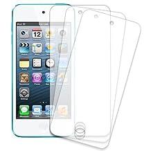 Novago ® - 3 Protectores de pantalla alta calidad transparentes anti-arañazos para iPod Touch 5 / iPod Touch 6