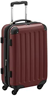 HAUPTSTADTKOFFER - Alex - Carry on luggage On-Board Suitcase Bag Hardside Spinner Trolley 4 Wheel Expandable, 55cm, burgundy (B00XJJ7LME) | Amazon price tracker / tracking, Amazon price history charts, Amazon price watches, Amazon price drop alerts