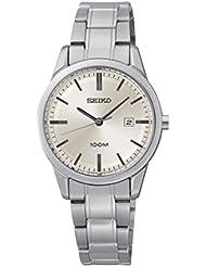 Seiko Damen-Armbanduhr Analog Quarz Edelstahl SXDG25P1