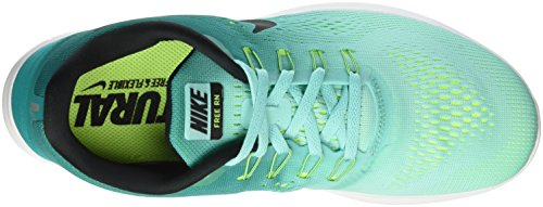 Nike Free Rn, Chaussures de Running Homme, Vert Turquoise