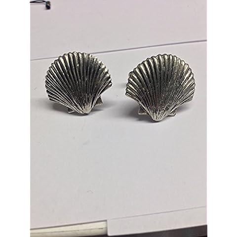 Sea Shell-PP G24 Cuff-Daddy-Gemelli in peltro inglese
