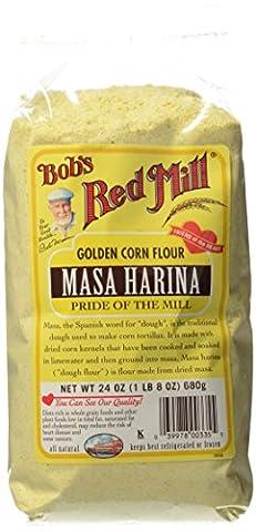 Masa Harina, Golden Corn Flour, 24 oz (680 g)