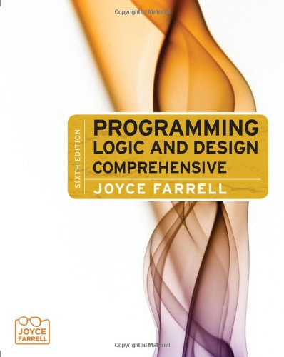 Programming Logic and Design-Comprehensive