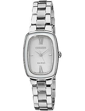 Citizen Damen-Armbanduhr XS Citizen L Analog Quarz Edelstahl EM0005-56A