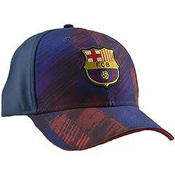 Gorra FC. Barcelona - Producto Oficial Licenciado - Soccer FCB marino - Talla Adulto ajustable