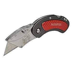 Faithfull-Couteau avec dos verrouillable et pliant-Real Deals for You XMS14FOLDING