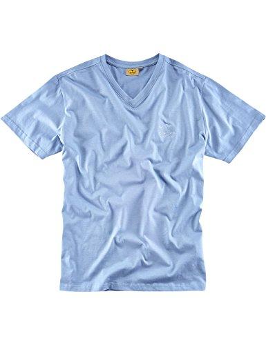 "ROADSIGN australia Basic T-Shirt ""Baseline-V"" Blau"