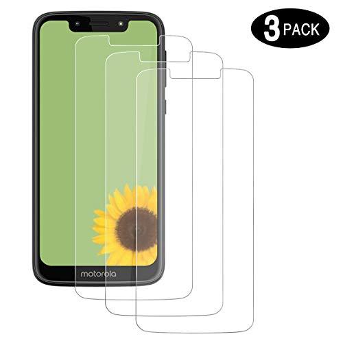 CHENXX [3 Stück Schutzfolie für Motorola Moto G7 Play, Panzerglas 2.5D [HD Clear] [9H Härte] [Anti-Kratzen] [Blasenfrei] Bildschirmschutzfolie Folie