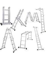 EQUAL Foldable Multipurpose Aluminium Super Ladder for Home