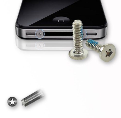 smartec24® iPhone 4 /4S pentalobe Schraubenset pentalobe 5-Sterne Torx Schrauben Set (Iphone 4 Schrauben)
