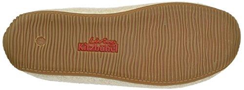 "Living Kitzbühel - Pantoffel Filz ""Alpenmoos"", Pantofole Donna Grau (Frost)"