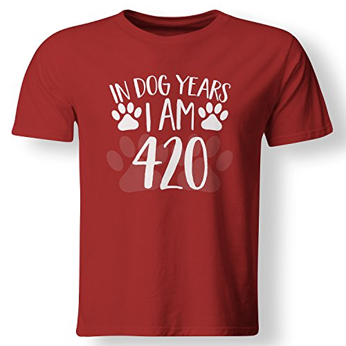 In Dog Years I'm 420 Funny 60th Birthday Gift T Shirt
