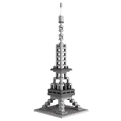 LOZ-Architectures Nanoblock 3D Puzzle Eiffelturm - 280 Bausteine