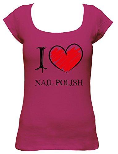 i-love-vernis-a-ongles-fun-ladies-col-bateau-t-shirt-pink-s