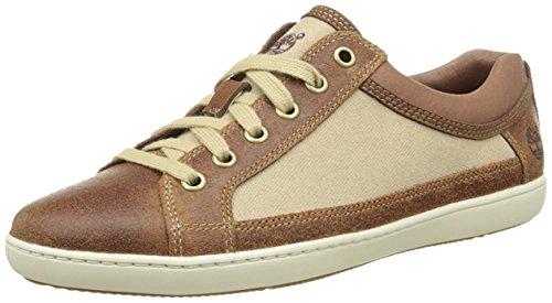 Timberland - Mayport F/L Ox, Sneaker Donna Marrone/Beige