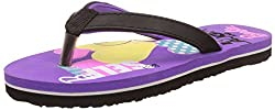 Barbie Girls Purple Flip-Flops and House Slippers - 13 kids UK/India (32 EU)