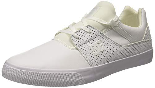 DC Shoes Herren Heathrow Vulc Sneaker, Weiß (White Wht), 45 EU Dc-summer