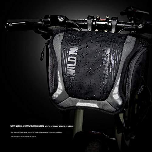 Lorenlli Para Wild Man Bolsa de Bicicleta Paquete de Manillar Impermeable MTB Ciclismo de Carretera Bolsa de la cámara Equitación Accesorios para Equipos