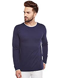 The Dry State Men's Cotton Round Neck Full Sleeves T-shirt