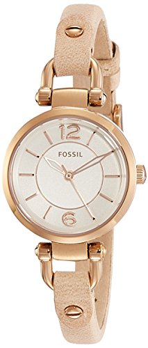 Fossil Georgia Mi Analog White Dial Women's Watch - ES3745 image