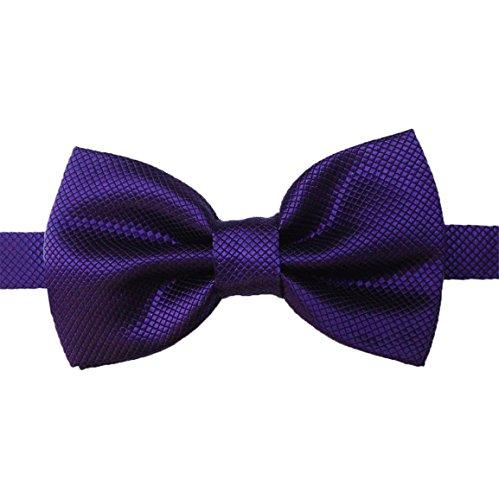 Bellelove Hommes Bow Homme Bussiness Cravate 20 Couleur Solide Soie Bleu Bow Tie Set Hommes Pour Fête De Mariage