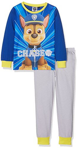 Paw Patrol Boys Chase Pj, Ensemble de Pyjama Garçon, Multicoloured (Royal/Grey/Yellow), 18-24 Mois (lot de 2)