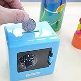 Longspeed Bequemer Safe Geldmünze Sparen Aufbewahrungsbox Code Münzen Bargeld Tresorfach Sparschwein Für Kinder - Zufällig