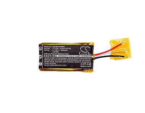 CS-MYG100RC Akku 220mAh Kompatibel mit [MYO] Gesture Control Armband Ersetzt 144440100156, 571830