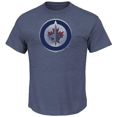 NHL Eishockey T-Shirt WINNIPEG JETS Big-Time-Play-Pigment-Dyed Majestic in XXL (2XL)