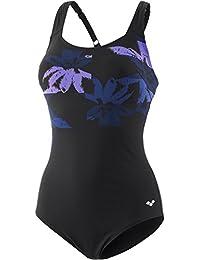 arena Fluids One Piece Swimsuit Women navy-persian green 2018 Schwimmanzug blau Weitere Wassersportarten Damen-Schwimmsport-Produkte