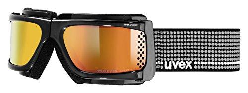 Uvex Pocket Skibrille, Black, One Size
