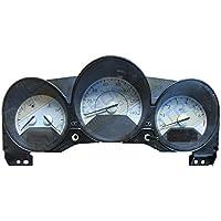 wei/ße Keenso 1NO12mm KFZ 4 Pin LED Power Druckschalter Wasserdicht Metall Momentary Push Button