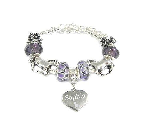 Mädchen-Charm-Armband ähnlich wie Pandora