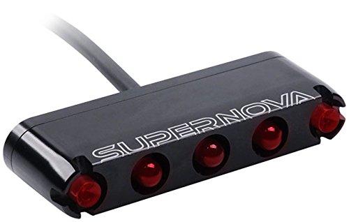 SUPER NOVA Unisex- Erwachsene M99-E6 Fahrradlicht, schwarz, One Size