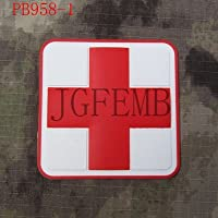Generic 5cm Platz Das Rote Kreuz Tactical Military Moral 3D PVC Patch rot weiß schwarz: PB958 preisvergleich bei billige-tabletten.eu