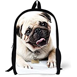 showudesigns - Mochila infantil multicolor cut dog Medium