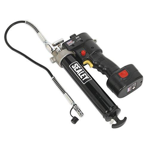 Sealey 12 V Cordless-Pistola per grasso, con batteria