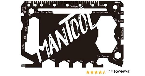 Mantool/ /46/outils en 1 /Outil multifonction/