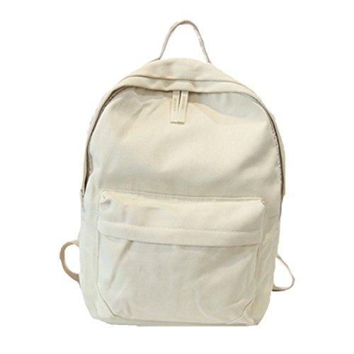 Ohmais Rücksack Rucksäcke Rucksack Backpack Daypack Schulranzen Schulrucksack Wanderrucksack Schultasche Rucksack für Schülerin abricot