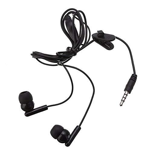 In-Ear-Kopfhörer mit Mikrofon-Clip, für PS4, Xbox One Gamepad schwarz Sony Wireless-hi-fi