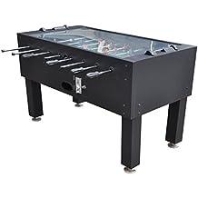 48c2624865e641 JT2D STCSC010 Table de Baby Foot Premium avec Monnayeur et Vitre amovible  140 x 74 x