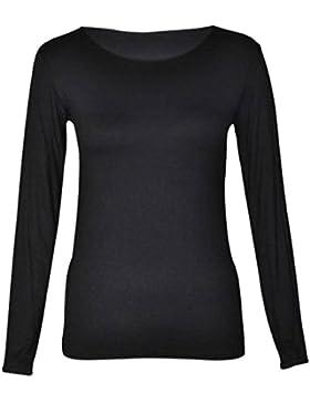 Fashion Fever London Ltd - Camiseta de manga larga - para mujer