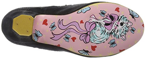 Irregular Choice Chinese Whispers, Bottes Classiques Femme Noir (noir)