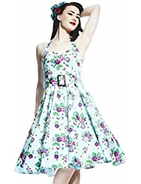 Hell Bunny Kleid MAY DAY DRESS skyblue