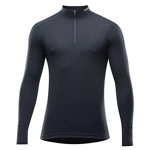 Devold 190 Hiking Half Zip Neck Longsleeve Shirt Men - Merino Longsleeve Mens Long Sleeve Half Zip